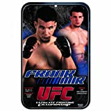 UFC Mixed Martial Arts Frank Mir 11-by-17 inch Sign