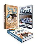 img - for Knit & Crochet Box Set: 10 Tutorials For Stylish And Fashionable Projects With Awesome Lace Knitting Patterns And Easy Beginners Manual With Free Sewing ... Set, crochet patterns, knitting patterns) book / textbook / text book