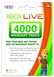 Xbox LIVE 4000 Microsoft Points [Online Game Code]