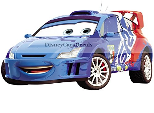 8-inch-raoul-caroule-6-france-world-grand-prix-pixar-cars-2-movie-removable-wall-decal-sticker-art-h