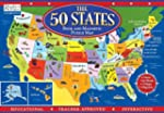 The 50 States Book and Magnetic Puzzl...