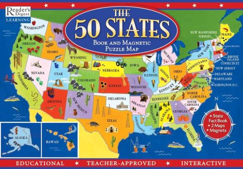 the-50-states-book-and-magnetic-puzzle-map
