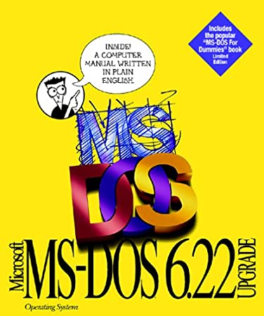 MS-DOS 6.22 Upgrade Version Competitive [Old Version]