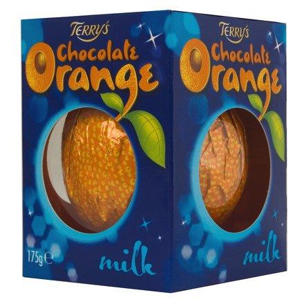 Terry's Chocolate Orange Milk 175g - Milchschokolade mit realem Orangen Geschmack