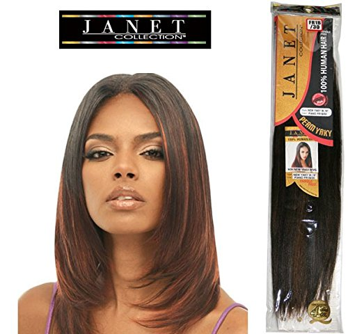 2-PKS-DEAL-JANET-COLLECTION-NEW-YAKI-14-100-HUMAN-HAIR-TANGLE-FREE-14