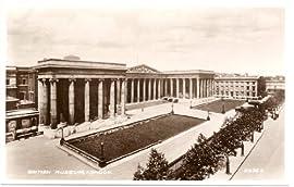1930s Vintage Postcard - British Museum - London England UK