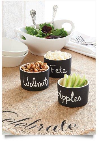 Chalkboard Ramekins Set Of 3