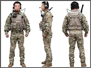 Men Military Army Tactical Series Airsoft Paintball Hunting Swat Uniform Combat Gen2... by Uniform