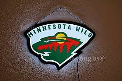 Desung.us® Revolutionary Minnesota Wild LED Neon Light Sign High Quality Design Decorate 3rd Generation Sign