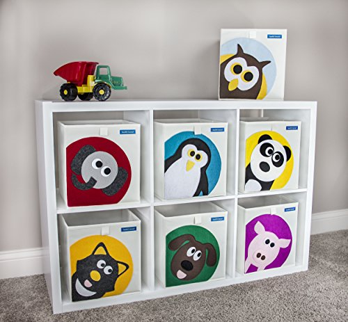 Kids Storage Cube Organizer Toy Box Kids Bedroom Furniture: Foldable Cube Storage Bin Box For Nursery Or Kids Toys