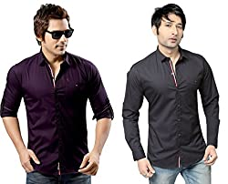 RX3 by Redox Slim Fit Shirt[9536-2-PCK2-13-17-S]