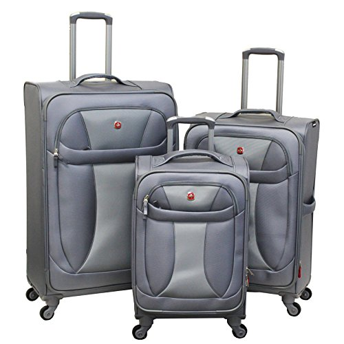 Neo Lite 3 Piece Luggage Set (Swiss Gear 24 Upright compare prices)
