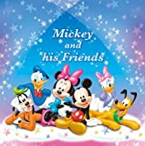 FUJICOLOR album free Disney NFW-10L Mickey Friends [white mount] 11-20 page character Blue 41 689 (japan import)