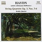 Haydn: String Quartets Op. 3, Nos. 3-6