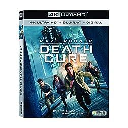 Maze Runner: The Death Cure [4K Ultra HD + Blu-ray]