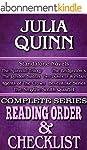 JULIA QUINN: SERIES READING ORDER & B...