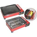 Barbecue à gaz camping portable cartouches de gaz 227 ml