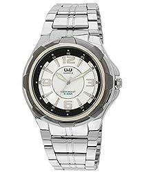 Q&Q Analog White Dial Mens Watch - Q252N404Y