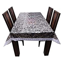 The Trendy Dining Table Cover Printed 3-D 6 Seater