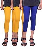 Alisha Girls Strechable Capri - Pack of 3