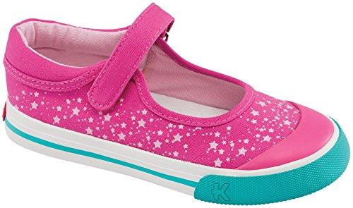 See Kai Run Girls' Kai Mayumi (Toddler/Youth) - Hot Pink - 8 Toddler front-567471