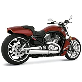 Vance & Hines Competition Series Slip-On Mufflers For Harley Davidson VRSCF 2009-2011 - 75-110-14