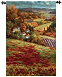 Valley View Autumn Countryside Wall Art Hanging Tapestry 53