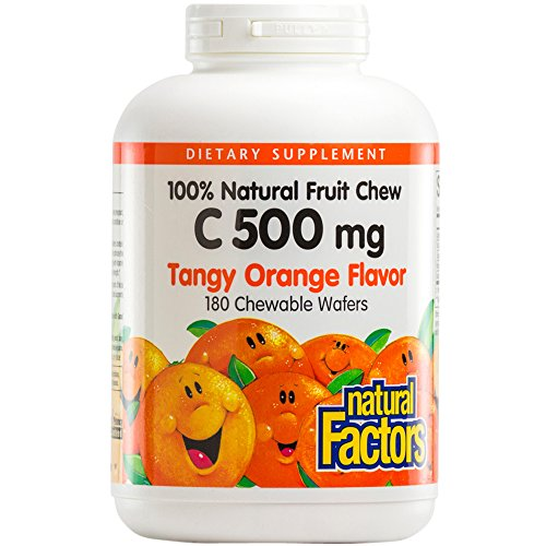 natural-factors-vitamin-c-500mg-100-natural-fruit-chew-tangy-orange-180-chewable-wafers