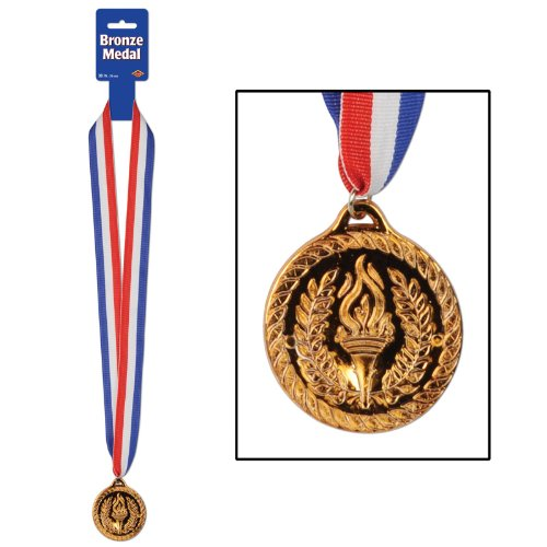 Bronze Medal with Award Ribbon