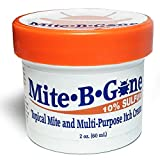 Mite-B-Gone 10% Sulfur Cream Relief from Mites, Insect Bites, Acne, Fungus