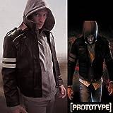 Jamcos Prototype Alex Mercer Cosplay Leather Jacket Costume-made