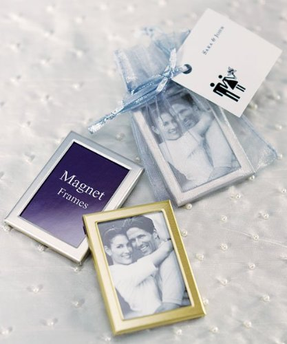 Magnet-Back-Mini-Photo-Frames-Brushed-Silver