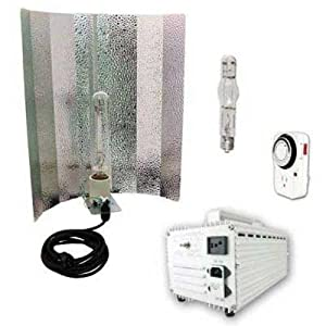 Virtual Sun VS400WRMS 400-Watt Hood HPS + MH Grow Light System Kit
