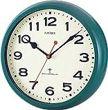 NOA モーメンタム 電波掛け時計 グリーン W-636 GR