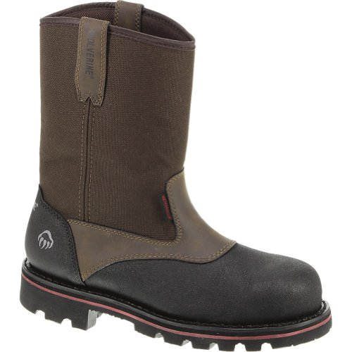 Wolverine Men's Drillbit Oil Rigger Wellington Work Boot