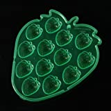 Strawberries Shape Silicone Ice Cube Trays Mini Cake Mold