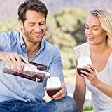 Wine Flask, Foldable Wine Bottle by VinoVivo - Portable Wine Purse That Collapses When Done, 750ml