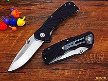 buy Enlan(Bee) El03C Liner Lock Folding Survival Pocket Camping Knife G10 Handle