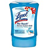 Lysol No-Touch Kitchen System Refill - Shimmering Berry Scent - Net Wt. 8.5 FL OZ (251 mL) - Pack of 2