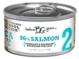 Merrick Before Grain #2 Salmon Paté Style Cat Food, 3.2 Ounce Can (24 Count Case)