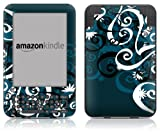 DecalGirl Kindle Skin (Fits Kindle Keyboard) Midnight Garden (Matte Finish)