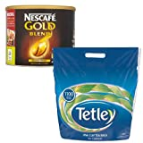 Nescafe Gold Blend 500g Coffee + Tetley 1100 Tea Bags MULTI-PACK SPECIAL