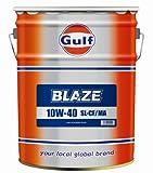 ガルフ/Gulf エンジンオイル ブレイズ/BLAZE 10W-40 SL/CF/MA 20L×1缶