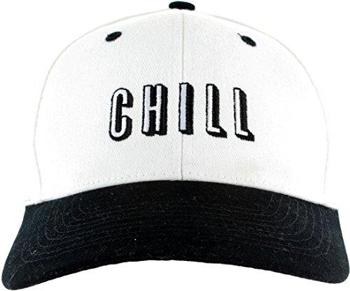 Netflix-Hat-Snapback-Embroidered-Adjustable-Black-White-Baseball-Cap