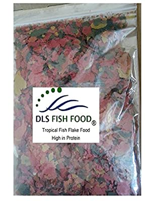DLS Tropical Fish Flake Food High in Protein 100g