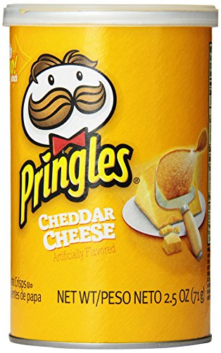 Pringles Cheddar Cheese Grab and Go Pack, 2.5 Ounce (Pack of 12) (Pringles Cheese Chips compare prices)