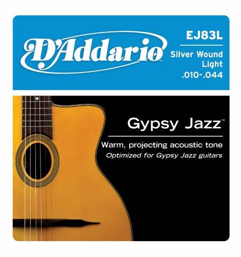D'Addario EJ83L Gypsy Jazz Acoustic Guitar Strings,