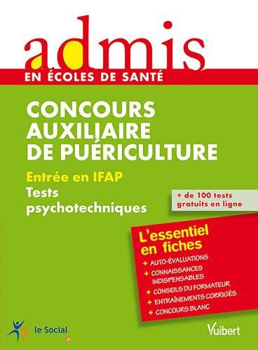 Concours auxiliaire de puériculture : Entrée en IFAP