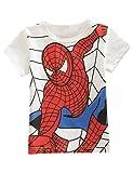 (ヴィンテージローズ)vintagerose スパイダーマン風 半袖 Tシャツ 子供用 男の子 3色 90-130cm