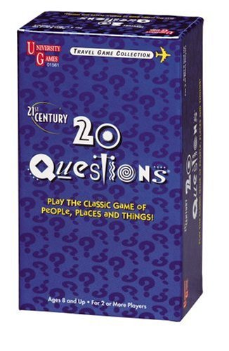 21st Century 20 Questions Card Game - 1
